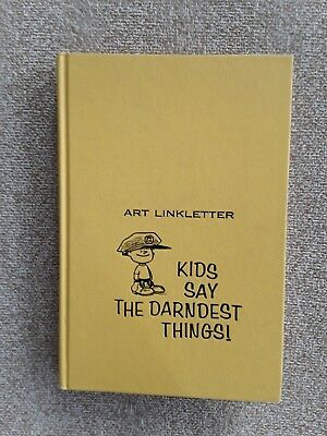 Kids Say the Darndest Things!, Art Linkletter, HC, 1957, 1st edition