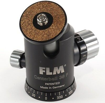 FLM Centerball 38 F Tripod Ball Head 360 degree Rotation