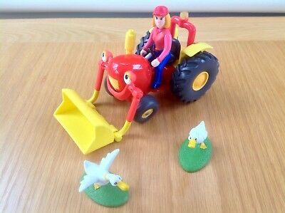 Springhill Farm Talking Tractor Tom With Farmer Fi & Whack & Bach Geese - L/Snds