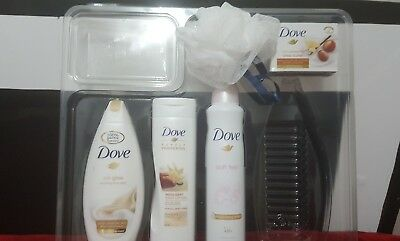 Dove Love Collection Trio Body Wash Body lotion and  spary and  shea  butter