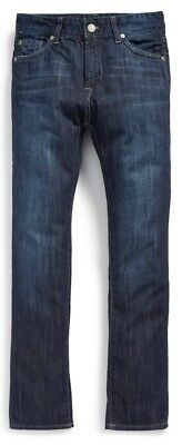 NEW 7 FOR ALL MANKIND Kids SLIMMY Foolproof Denim Jeans Big Boys Size 14 NWT