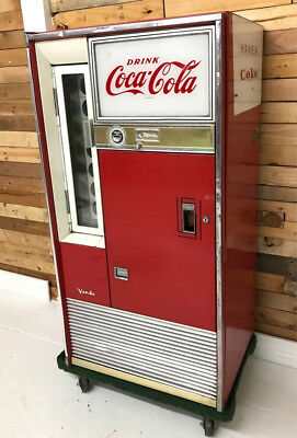 VENDO COCA COLA MACHINE - Vintage working 1960's H63A