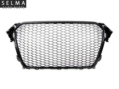 Audi A4 B8 A4/S4 B8.5 RS4 Style Gloss Black Grill Grille for 2013-2016