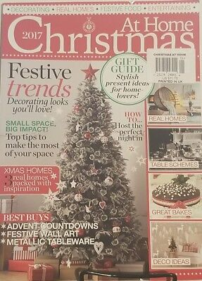 At Home Christmas 2017 Frestive Trends Decorating Looks  FREE SHIPPING mc