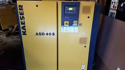 Kaeser ASD 40 S 40HP Rotary Screw Air Compressor 2 Available