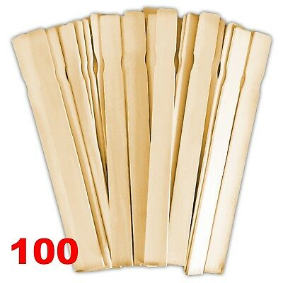 """Paint Mixing Stirring Sticks Wood 100 Pack 12""""x1"""" Smooth and Splinter Free"""