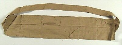 Original WWII M1 Garand Khaki Bandoleer USGI Excellent Condition THIN SLING
