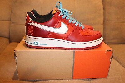 2005 NIKE AIR Force 1 Premium Year Of The Dog Yotd Us 8.5 9