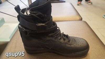 Nike SF AF1 Special Forces Field Air Force One 1 Triple Black 864024-003 Sz 8-15