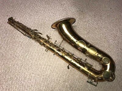 Vintage King Tempo Tenor Saxophone Project