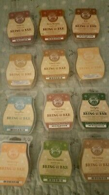 Huge lot of 12 NEW Scentsy Bring Back My Bars rare & retired