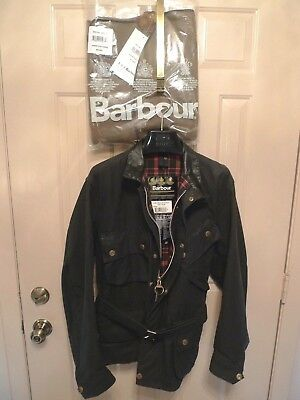 Barbour- A180 Beacon Waxed Cotton Jacket & Liner- Heavyweight-Rare-Made@ Uk-40