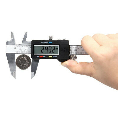 Digital Gauge Stainless Steel Vernier 150mm 6inch Caliper Micrometer WYS