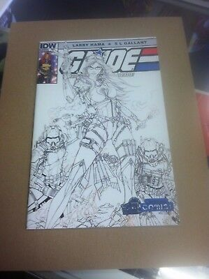 G.I Joe Real American Hero #200 Yesteryear Tyndall B/W variant.First print.
