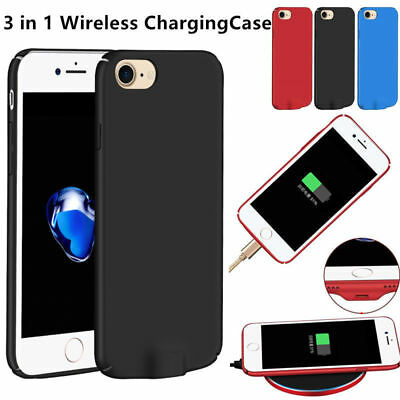 Slim QI Wireless Charging Receiver Back Case Cover For Apple iPhone 6 6s 7 Plus