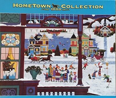 Heronim Hometown Collection ~ Deck The Halls ~ 1000 Piece Puzzle - NEW SEALED