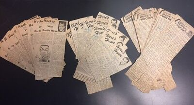 Lot Of 191 Vintage 1960's Here's Howe Vintage Newspaper Column London Free Press