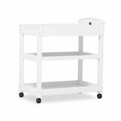Boori Arched 3 Tier Nappy Changer Change Table White