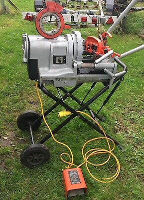 Ridgid 1233 Pipe Threading Machine Threader Cheapest on EBay No Vat
