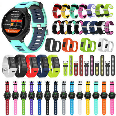 Silicone Strap Watch Band For Garmin Forerunner 735XT/35/ Vivofit JR/Fenix/HR+