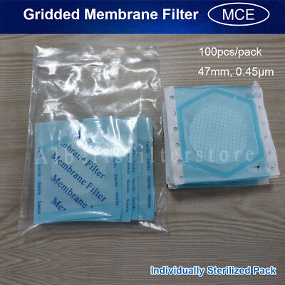 100x MS® MCE Membrane Filter 47mm, 0.45μm,Stable Flow, Individually Sterile Pack