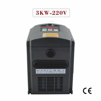 NEW Top Quality HUANYANG 220V INVERTER 3KW VARIABLE FREQUENCY 4HP 13A DRIVE VFD