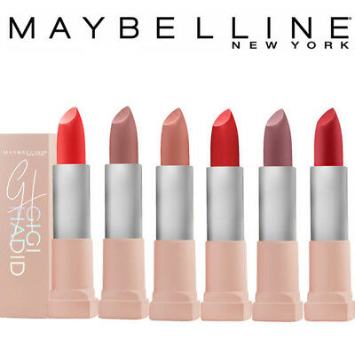 [MAYBELLINE NEW YORK] Gigi Hadid East and West Coast Glow Matte Lipstick 3.9g