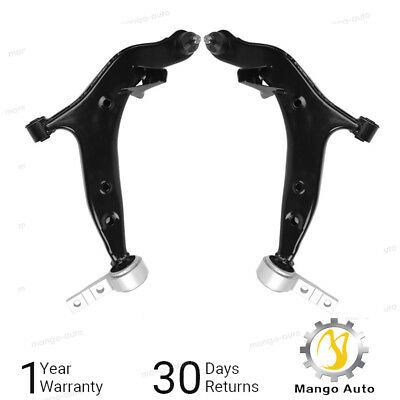 Control Arm Kit For 2004-2009 Nissan Quest (2) Front Lower Control Arms