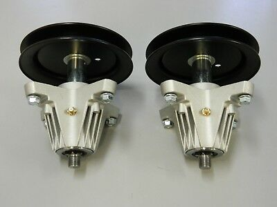 2 x SPINDLE ASSY FOR SELECTED MTD ROVER TROY BILT CUB CADET MOWERS 918-04822A