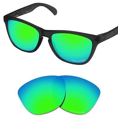 Tintart Polarized Replacement Lenses for-Oakley Frogskins Emerald Green (PRM)