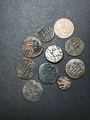 lot of 10 Arabic coins - great condition collector coins