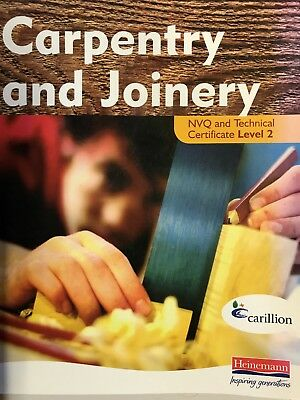 Carpentry and Joinery NVQ and Technical Certificate Level 2 Student Book by...