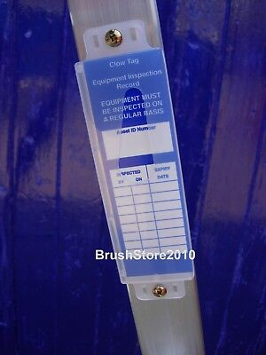 Ladder Inspection Tag Insert WITH Holder Equipment Inspection Record LADDER TAGS
