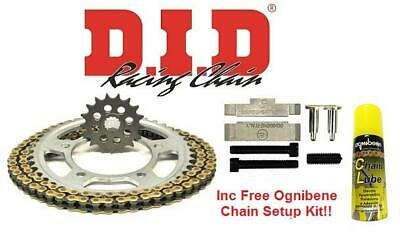 DID Upgrade Chain And Sprocket Kit + Setup Kit Suzuki GSF1250N/S K7-L5 07-15