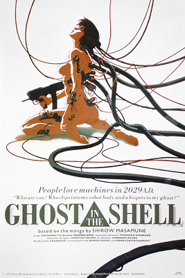 Ghost In The Shell Anime Poster multicolour