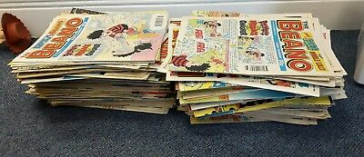 Beano Comics - Vintage Collectable Job Lot of over 250! 1992-1997 Wow Retro 90's