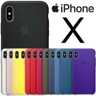 NEW BOXED Ultra Slim Shockproof Bumper Silicone Case Cover for Apple iPhone X 10