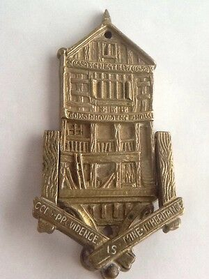 Vintage Brass Gods Providence House - Chester Door Knocker
