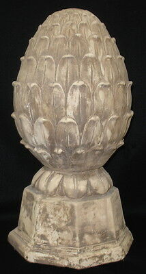 "Artichoke Finial 13"" Antique Decorative Statue Home and Garden Accent 36003"