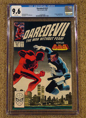 Daredevil 257 - CGC 9.6 NM+ White Pages - Punisher Appearance
