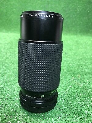 Rokinon Auto Mc 8312622 1:4.5 F= 80-200 Mm Vintage Camera Lens