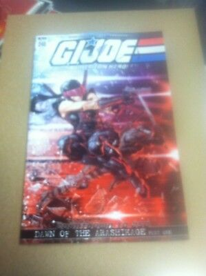 G.I Joe Real American Hero #246 1/20 retailer incentive variant.First printing.
