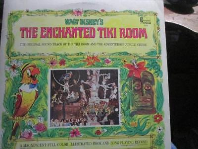 1968 Walt Disney THE ENCHANTED TIKI ROOM  LP w Attached Color Booklet 3966