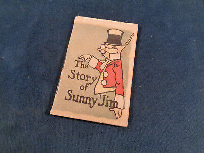 Force Wheat Flakes,  Sunny Jim advertising booklet, American Lithographic Co NY