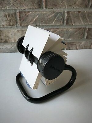 Rolodex Open Rotary Card File with 2-1/4 X 4 Inch Cards A-Z