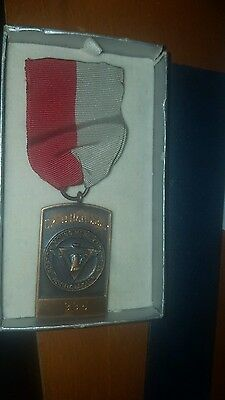 VINTAGE 1935 Boston Young Men's Christian Association YMCA PIN MEDAL RELAY