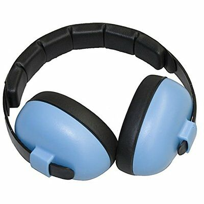 Baby Banz Outdoor Safety EarBanZ Infant Hearing Protection, Blue