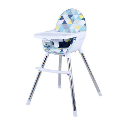 Childcare Coda High Chair Converts to Toddler Seat Highchair Citrino