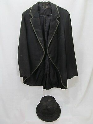Vintage CPK Co. Coat and E.G. Barnaby & Co. Bowler Hat - late 1800's