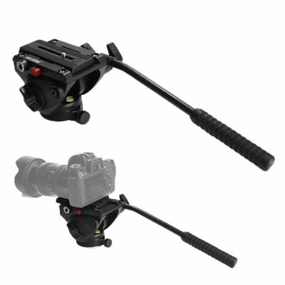 Upgraded VELEDGE VD-M8 Fluid Head Hydraulic Damping For Pro DSLR Tripod FK